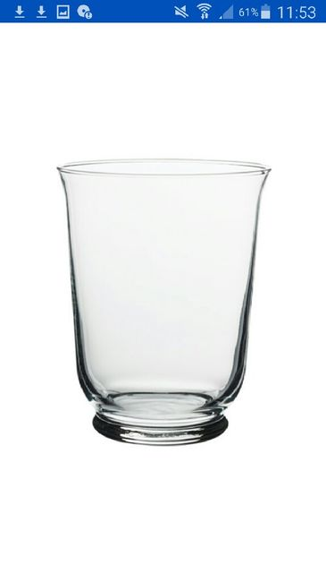 allestimento villa con vasi vetro ikea fai da te forum
