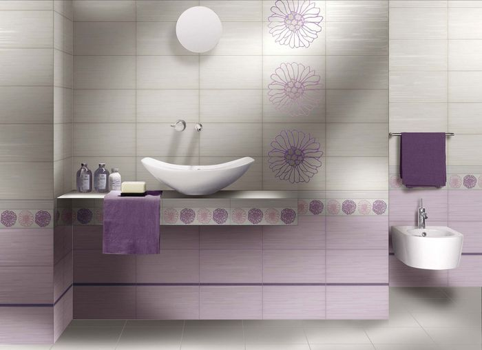 Qualche consiglio sul colore del bagno vivere insieme forum - Piastrelle viola bagno ...