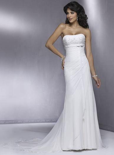 d225dfbb0b67 Abito da sera al posto del classico abito da sposa... - Moda nozze ...