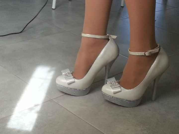 Le mie scarpe da sposa (fatte da me)
