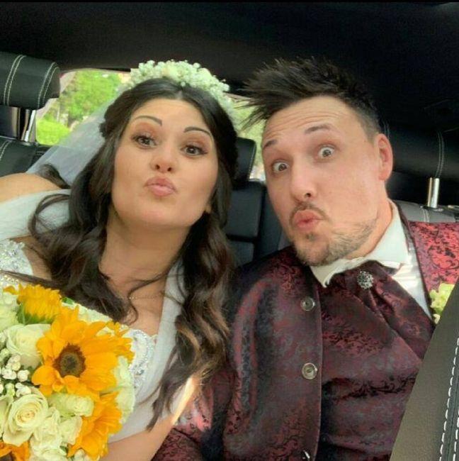 Il primo Selfie da sposati!! 😜❤️📷💒 1