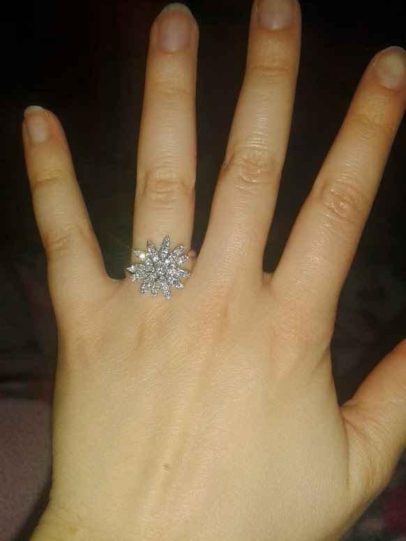 """L'anello magico con cui ho detto """"SI"""""""