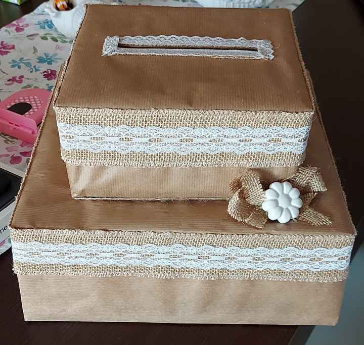 Scatola per buste regalo 1
