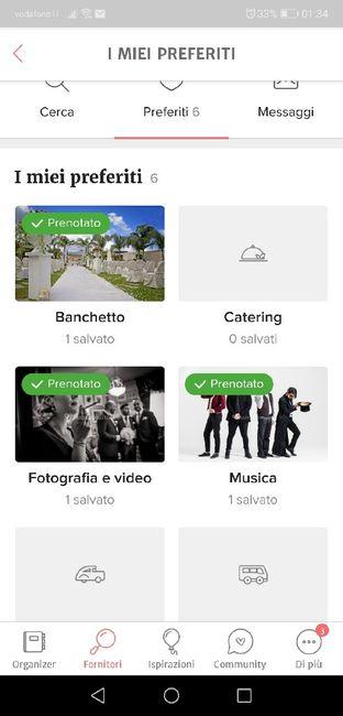 Condividi lo screenshot dei tuoi fornitori 2