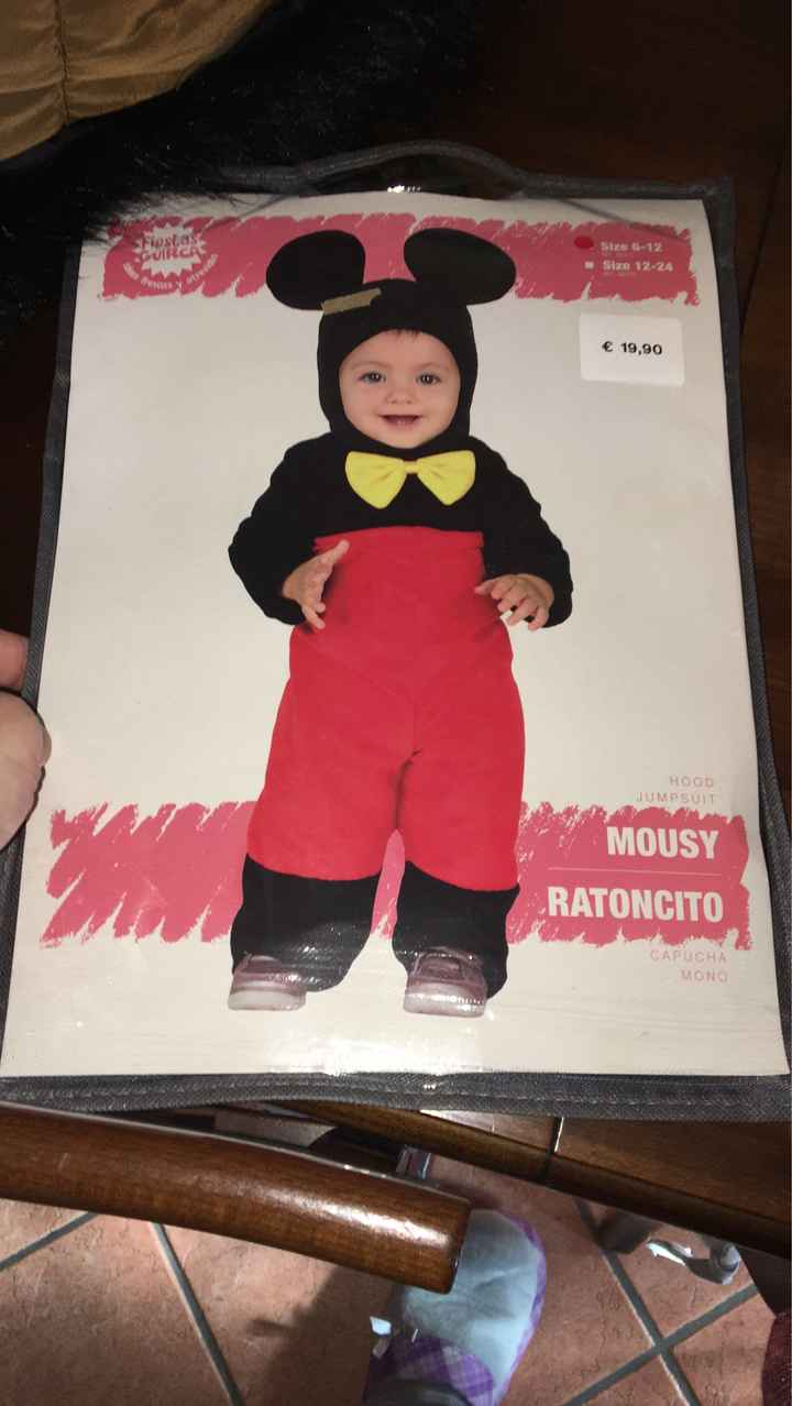 Carnevale neonato 6-12 mesi - 1