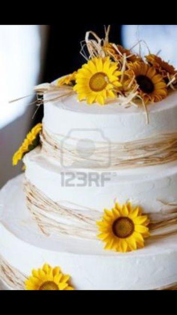 Torta Matrimonio Girasoli : Torta organizzazione matrimonio forum