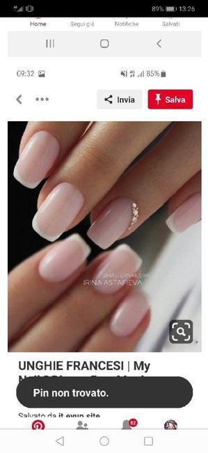 Sposine dolcissime oggi faccio la prima prova unghie, mi fate vedere le vostre? 1
