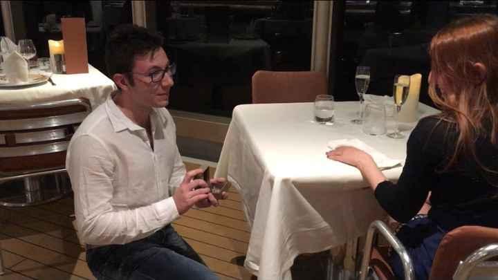 Come vi ha chiesto di sposarvi? - 1