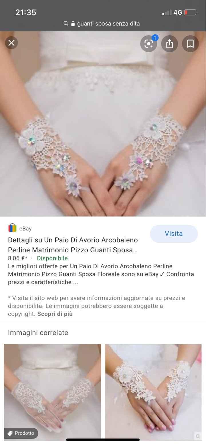 👰🏻 Look sposa: accessori 🧤 - 1