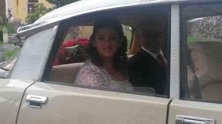 in macchina