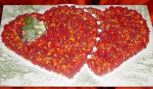 Torta nuziale a forma di cuore per pesciolina - Página 2 ...