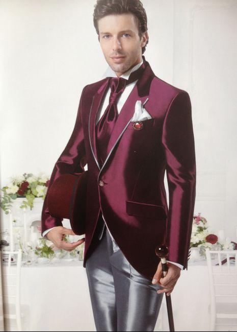 abiti da sposo , bourdeaux