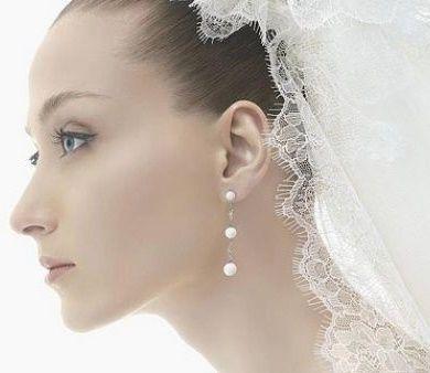 gioielli sposa - punto luce - orecchini pendenti
