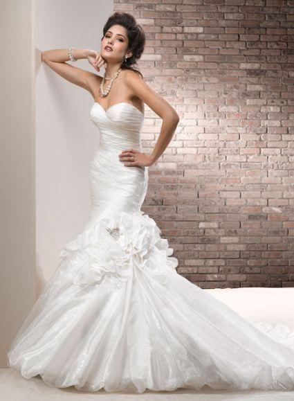 abiti da sposa, stile sirena, mermaid