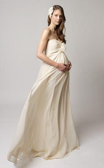 abiti da sposa premaman per sposa incinta