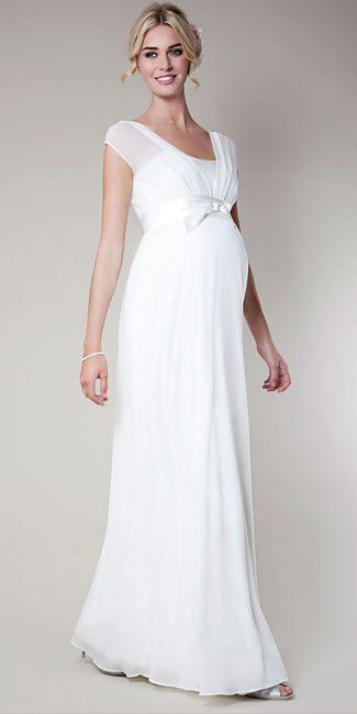921c9d336459 Abito da sposa 5 - stile prémaman (incinta) - Moda nozze - Forum ...