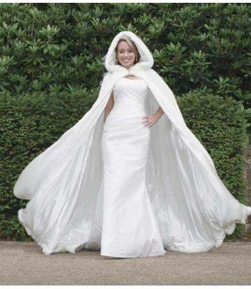abito da sposa, stile invernale