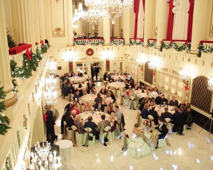DECORAZIONI NUZIALI MATRIMONIO - invernale/natalizio -11A