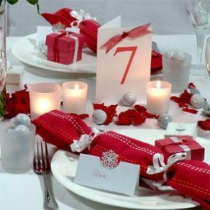 Decorazioni nuziali matrimonio invernale natalizio 2 for Decorazioni tavoli matrimonio