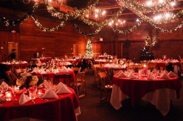 DECORAZIONI NUZIALI MATRIMONIO - invernale/natalizio - location