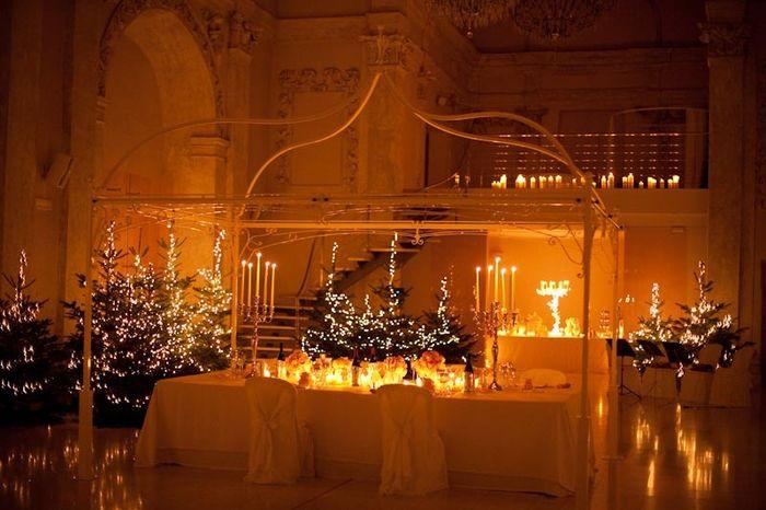 Matrimonio Natalizio Napoli : Decorazioni nuziali matrimonio invernale natalizio