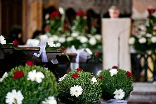 Addobbi Natalizi Matrimonio.Decorazioni Nuziali Matrimonio Invernale Natalizio 1 Chiesa E