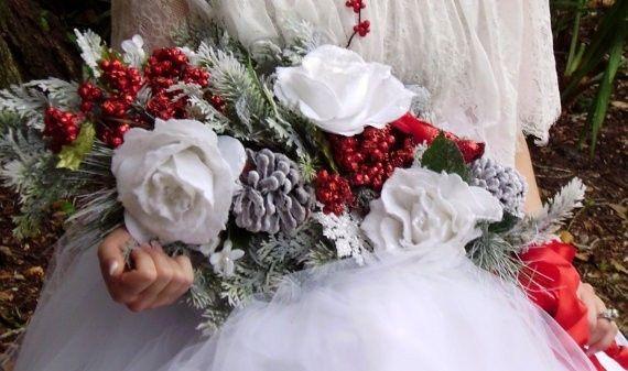 Bomboniere Matrimonio Tema Natalizio : Decorazioni nuziali matrimonio invernale natalizio