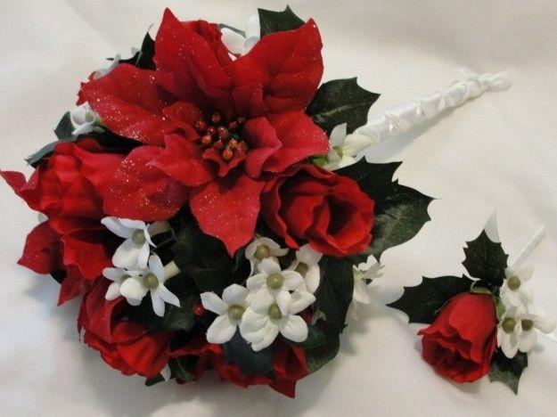 Bouquet Natalizio Matrimonio : Decorazioni nuziali matrimonio invernale natalizio bouquet e