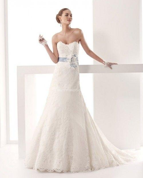 abito da sposa, stile scivolato 1