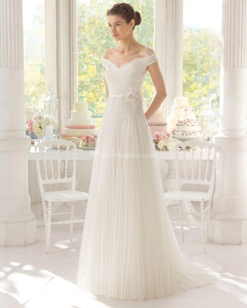 abito da sposa, stile scivolato 3
