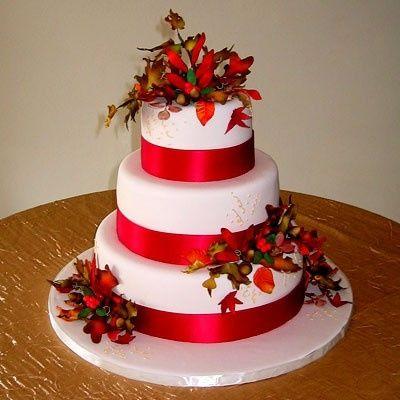 Decorazioni Matrimonio Invernalenatalizio 3 Torte Nuziali