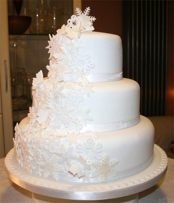 Decorazioni matrimonio invernale/natalizio 3 - torte nuziali ...