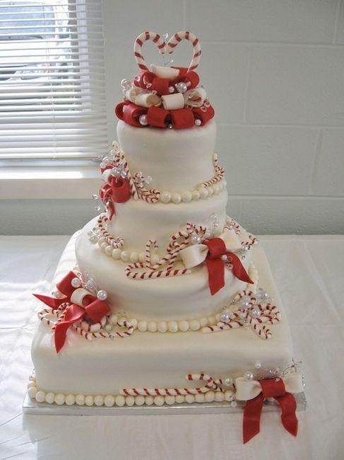Decorazioni matrimonio invernale natalizio 3 torte for Decorazioni nuziali