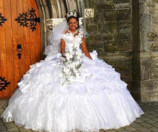 abito da sposa, stile gipsy