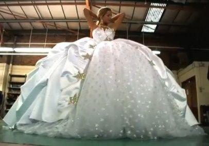 abito da sposa, stile gipsy 2