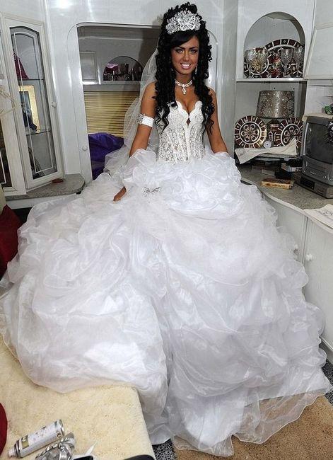 Abito Matrimonio Gipsy : Abito da sposa stile gitano gipsy pagina moda