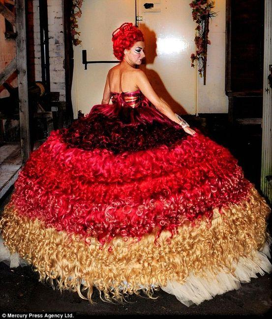 abito da sposa, stile gipsy 6