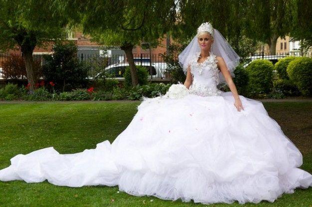 abito da sposa, stile gipsy 10