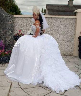 abito da sposa, stile gipsy 21