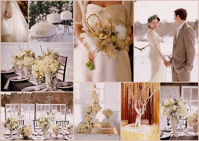 Favoloso Decorazioni nuziali matrimonio invernale/natalizio 5 - colori e  SU79