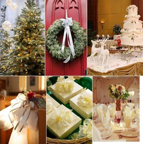 Decorazioni nuziali matrimonio invernale natalizio 5 for Decorazioni nuziali