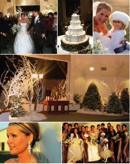 Decorazioni Matrimonio Natalizio : Decorazioni nuziali matrimonio invernale natalizio