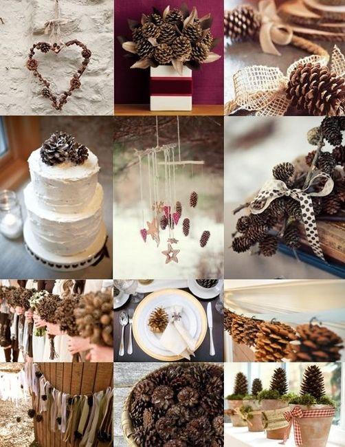 Matrimonio Natalizio Idee : Decorazioni nuziali matrimonio invernale natalizio