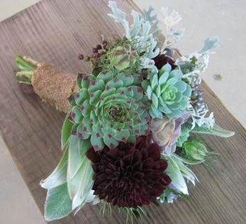 il bouquet della sposa, piante grasse 9