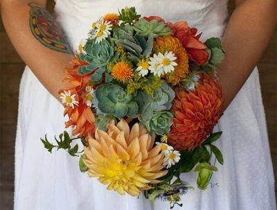 il bouquet della sposa, piante grasse 16