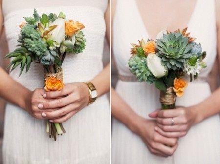 il bouquet della sposa, piante grasse 19