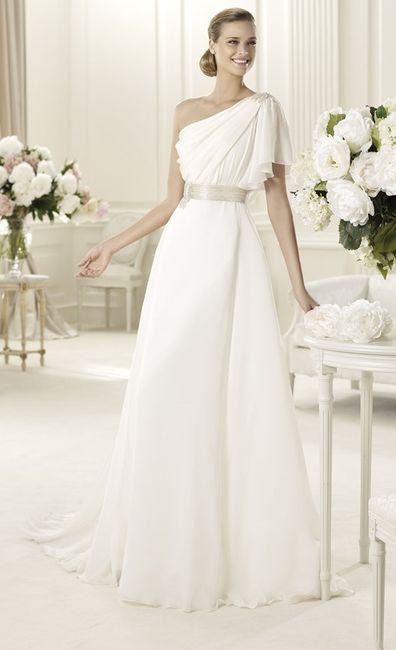Abito da sposa 12 stile peplo greco pagina 2 moda for Principessa romana