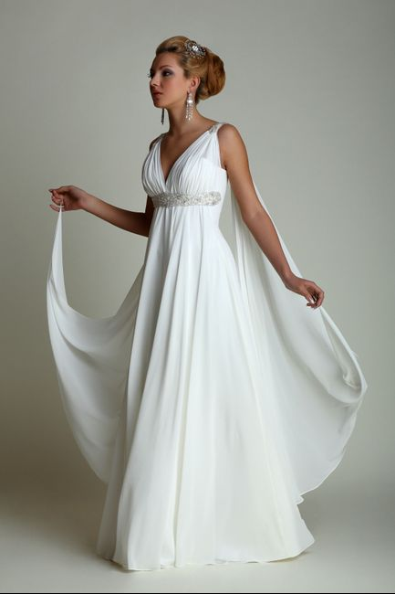 Matrimonio In Greco : Abito da sposa stile peplo greco moda nozze