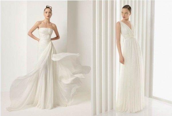 Matrimonio Stile Greco Romano : Abito da sposa stile peplo greco moda nozze