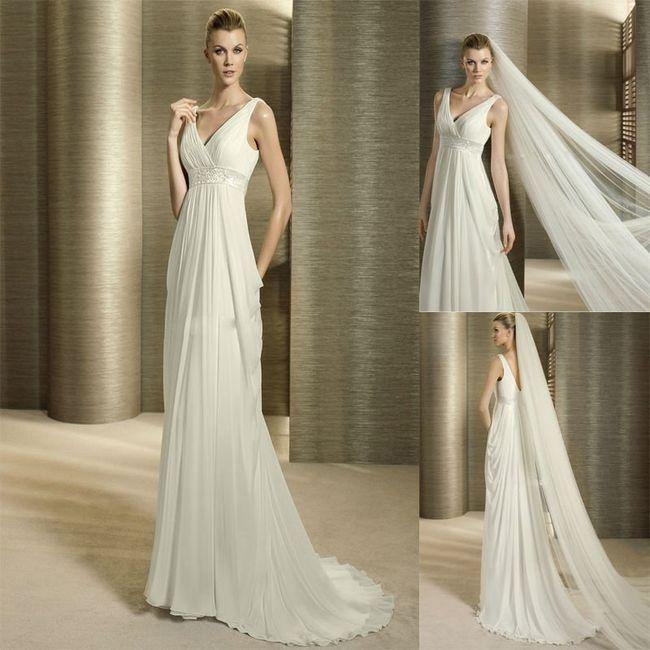 Matrimonio Tema Divinità Greche : Matrimonio stile greco abiti da sposa morbida
